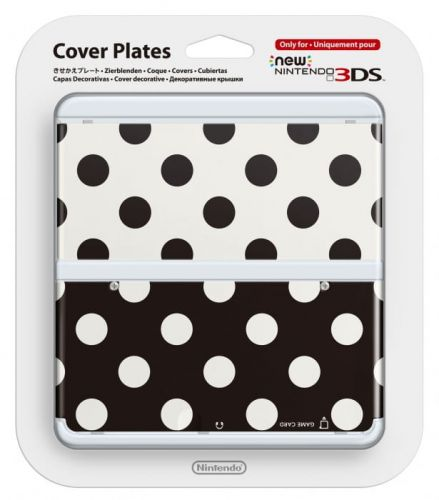 New-3DS-Cover-Plate-15-(Black-White-dots).jpg