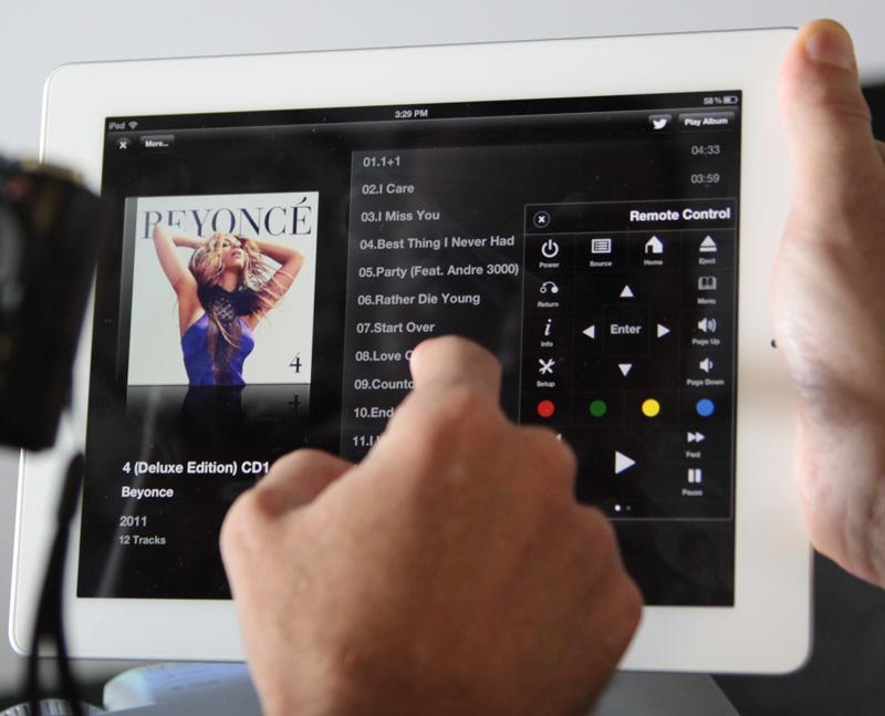 Sterowanie z iPada dla Popcorn A 400