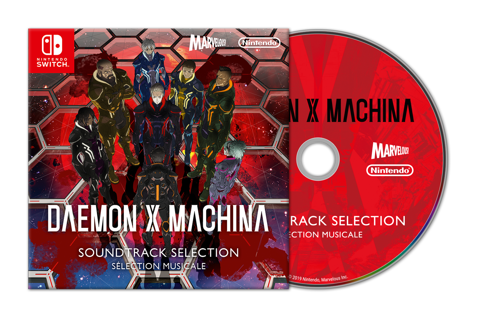 Daemon X Machina Plakietka