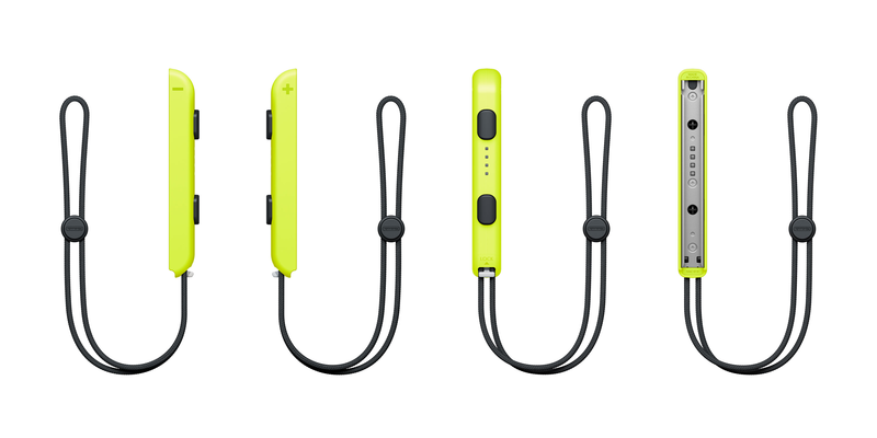 Nintendo Switch Joy-Con Strap (Neon Yellow)