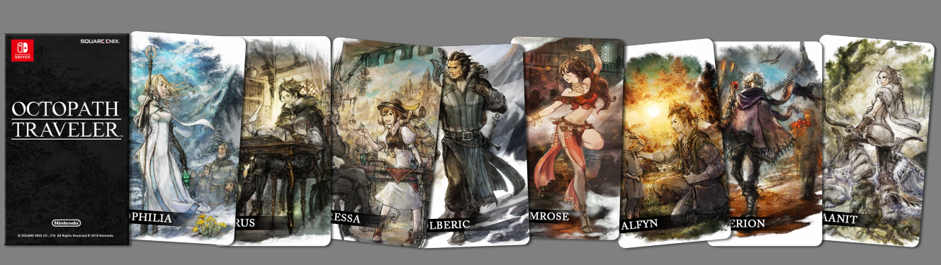 Karty Octopath Traveler