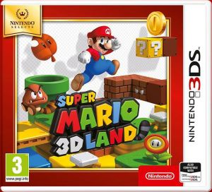 Gra Super Mario 3D Land Selects (Nintendo 3DS)