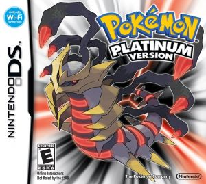 Gra Pokemon Platinum (NDS)