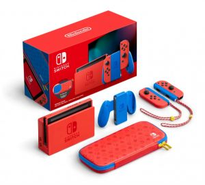 Konsola Nintendo Switch Mario Red & Blue edition + gra Mario 3D All Stars