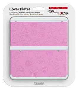 New 3DS Cover Plate 11 (Pink)
