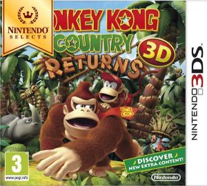 Gra Donkey Kong Contry Returns 3D Select (3DS)