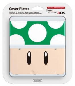 New 3DS Cover Plate 8 (Toad Green)