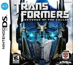 Gra Transformers: Revenge of the Fallen - Autobots (Nintendo DS)