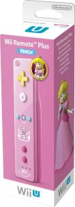 Wii U Remote Plus Peach Edition